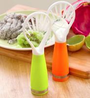 adapt devices - multifunction Fruits tools Flesh separator peeled fruit device adapt for Hami melon kiwi fruit pitaya