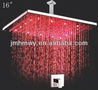 bath fixtures - Factory Supply LED Shower Lighting Fixtures Bath Shower head shower mixer valve