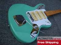 jaguar - JAZZMASTER Mustang Classical Custom jaguar Electric Guitars Olive Green Finish China Guitarras Musical Intrument