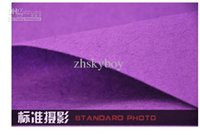 Wholesale 85cmX250cm color Imitation felt cloth Photography Professional Backdrop Background Cloth