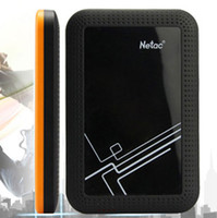 Wholesale Netac GB micro B USB External Hard Drive portable hard disk HDD Externo Disco HD Disk Storage Devices With retail packaging