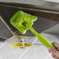 Wholesale Hot Kitchen Long Handle Multifunction Cleaning Brush Sponge Wash Super Clean Cloth Kitchen Sink Clean Supplies JG0036 kevinstyle