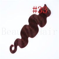hair extension clip - Clip Hair Extensions Clip On Remy Human Hair Extensions Full Head Set g