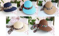 beauty rains - 2016 New Style Of Fascinator Hats Straw Church Beauty Women Sunhat Beach Lady Sunhat