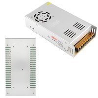 Wholesale New V Regulated Switchin Power Supply A W AC PSU Metal For LED Lights TV Silver for led strip
