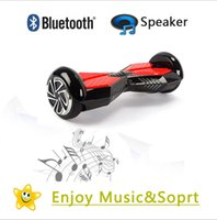 Wholesale Bluetooth Speaker Inch Wheel Self Balancing Board Scooter Electric Hover Board Bluetooth Smart Iohawk Board