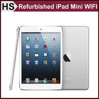 Wholesale Refurbished Original iPad Mini quot iOS A5 Apple Tablet GB GB GB WIFI Warranty Included Retail Box Accessories White DHL