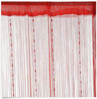 Wholesale Window Room String Curtain Chain Beads Fringe Panel Divider Tassel Candy Colors