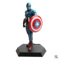 american households - 100pcs LJJC2560 Creative The Avengers Toys Batman Ironman Spriderman Superman American Captain PVC Action Figures Kids Toys Household Decors