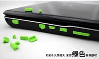 Wholesale 300sets Laptop dustproof plug suit for Apple pro set for air retina set