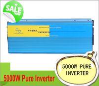 ac solar generator - 5000w Solar Power inverter Max w V V DC to V v v V V AC Pure sine wave wind solar generator inverter