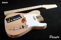 bass guitars kits - DIY Electric Guitar Kit Bolt On Neck Bass Wood Unfinished MX