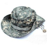 acu hats - Retail Bonnie hats Outdoor cap sun hat military camo hat travel cap roll up hem casual cap acu Camouflage