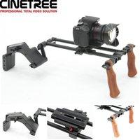 dslr rig - CineTree MSK SR01 Compact Shoulder Rig Camera Support with Lightweight Platis Pad for DSLR Cameras
