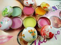 apple lip gloss - Spain Original Iron Box Sugar Lip Gloss Lip Balm Famous Brand Cosmetic Lip Skin Care Products Pineapple Apple Cherry