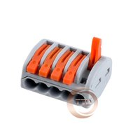 awg connector - pieces WAGO Type Universal Compact Wire Wiring Connector pin Conductor Terminal Block With Lever AWG