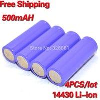 Wholesale 4Pcs V Mah rechargeable Battery Li ion batteies