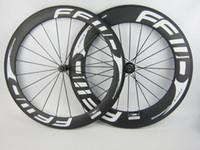 Wholesale T700 carbon wheels front mm rear mm road bike wheels carbon wheel powerway R13