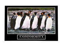 barney stickers - Barney Stinson s Conformity Motivational Print Poster Best Wall Poster