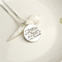 american stories - 2016 father s day engraved letters quot Love story is Beaustiful But ours is my Favorite quot Pendant Alloy Necklace Fashion Jewelrys Gift ZJ