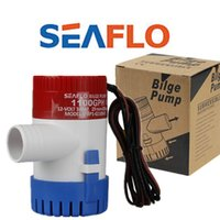 Wholesale 12V GPH amp SEAFLO Marine Boat submersible Bilge Pump low pressure pump with retail box