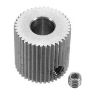 Wholesale 3D Printer Accessories Gear teeth mm Bore mm Extruder Extrusion Wheels Feeding Wheels Reducer Extruder Stainless Steel