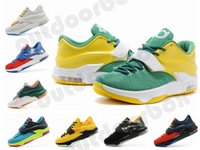 Basketball Unisex Mesh New Arrival Kevin Durant KD 7 VII Mens Basketball Shoes Sports Shoes Outdoorbox Athletic Shoes Fashion Casual Shoes Footwear Sneakers