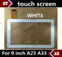 Wholesale CHpost Replacement inch original Touch Screen with Glass Digitizer for inch Allwinner A23 A33 Tablet PC white TC7