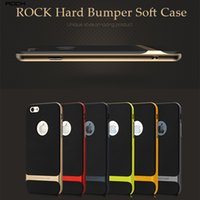 Wholesale Hybrid Rock Neo Hard Bumper Soft Rubber Hybrid Case Skin Cover For IPhone plus s Samsung Galaxy Note