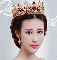 baroque pearls rings - 2016 hit Bride crecy yao large restoring ancient ways ring and the bride married crown baroque crown the queen hair accessories