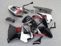 Wholesale Painted black and white with custom plastic injection molding fairing Kawasaki Kawasaki Ninja ZX6R