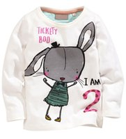 no brand clothing - 2015 Sale Hot Sale No Brand Unisex Spring Autumn Cartoon T Shirt Kids Clothing Boys Long Sleeve O neck Little Maven Brand Cotton Bts l03an