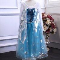 Cheap Frozen Elsa Anna Best Frozen Princess Dresses