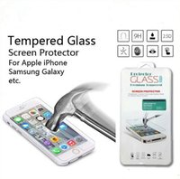 galaxy note price - Factory price Ultra Thin mm D H Tempered Glass Screen Protector For iPhone Plus Galaxy S4 S5 Note with retail box