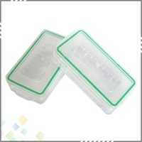 Wholesale 18650 Battery Box Waterproof Case Plastic Protective Storage Translucent Battery Holder Storage Box for and Battery DHL Free