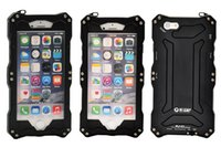 Wholesale 50m waterproof For iphone Original R Just Outdoor Love Diving Aluminum Covers Metal Case For iphone inch Mei Gorilla glass