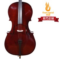 Wholesale Handmade rosewood plate cello flc2113 banjulele qin package bow