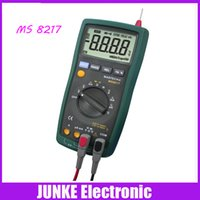 ac resistance measurement - MASTECH MS8217 Digital Multimeter Meter AC DC Voltage AC DC Current Resistance Capacitance Tester with Temperature Measurement