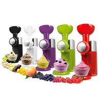 automatic ice maker - 42 Big Boss Swirlio Ice Cream makers Multifuction Food Processor full automatic Ice Cream Machine Frozen Fruit Makers