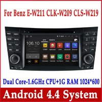 benz e class - Android Car DVD Player for Mercedes Benz E Class W211 E200 E220 E240 E270 E280 with GPS Navigation Radio BT Stereo
