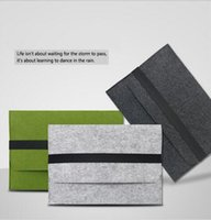 Wholesale Wool Felt Ultrabook Sleeve Bag for Macbook Air Pro Retina quot quot quot Laptop Inner Case for pro inch Notebook bag cover