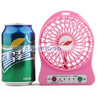 Wholesale 2016 Summer Hot sale Portable Handheld Mini USB Fan with rechargeable Battery Destop air Cooling fan