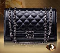 free shipping designer handbags - Fashion Women Leather Crossbody Designer Handbag Cover Plaid Chain Ladies Shoulder Bags Classic Messenger Bags LHB24