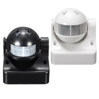 Wholesale smart home system Durable M Degrees Auto PIR Motion Sensor Detector Switch Home Garden Outdoor Light Lamp