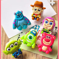 Wholesale lovely cartoon small office clips kids stationery paper clips cute school items