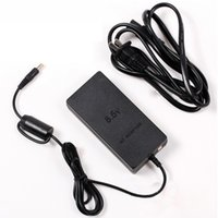 Wholesale US Plug Popular AC Adapter Charger Cord Cable Supply Power For PS2 Console Slim Black YdrKE