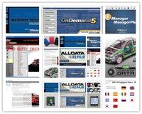Wholesale 47in1 alldata and mitchell software alldata mitchell on demand ATSG vivid workshop ELSA med heavy truck tb hdd Big promotion