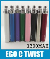 Wholesale eGo C Twist Battery ego variable voltage battery mah mah mah for ego electronic cigarette kit e Cigarette Kits DC011