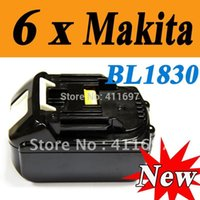 Wholesale Packs New Makita V Compact Lithium Ion Battery BL1830 for Cordless drill SHIP VIA EMS order lt no track