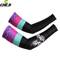 Wholesale 2016 New Wintwe Warm Women Cycling Arm Warmers Ciclismo Cheji Cuff Sleeves Cover Bike Sunscreen Girls Bicycle Accessories for Man Women